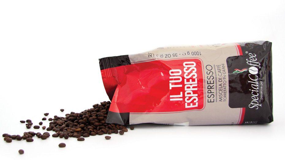 Il Tuo Espresso - Caffè In Grani Per Macchine Espresso Bar E Ristorante - Confezione Da 1 Kg