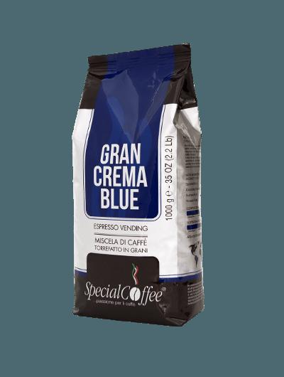 Gran Crema Blue - Caffè In Grani Per Macchine Espresso Distribuzione Automatica - Vending Machine - Confezione Da 1Kg
