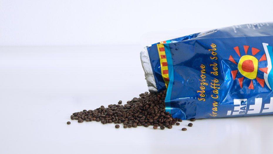 Selezione Gran Caffè Del Sole 3Kg - Caffè In Grani Per Macchine Espresso Bar, Ristorante