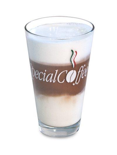 Bicchiere Vetro Latte Macchiato 300cc.