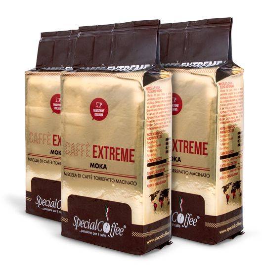 Caffè Extreme - Caffè macinato ideale per caffettiera moka