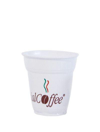 Bicchiere in plastica espresso 88cc.