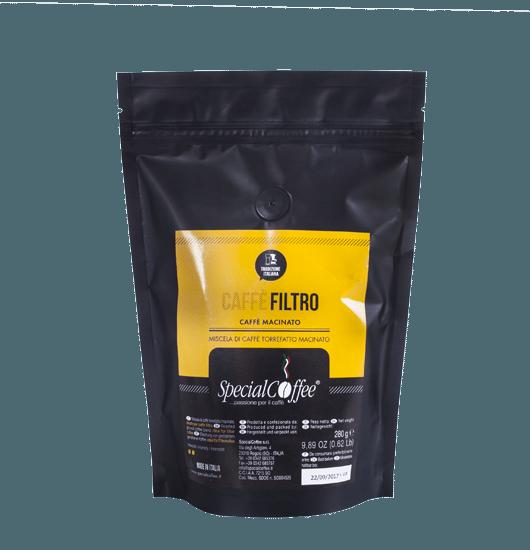 Caffè Filtro - Caffè macinato per macchine filtro e French Press - Per preparazione caffè filtro, lungo o caffè americano