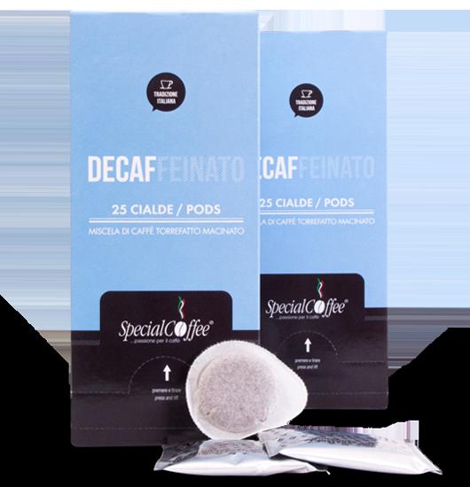 Cialde Caffè Decaffeinato - Cialda ese 44 mm
