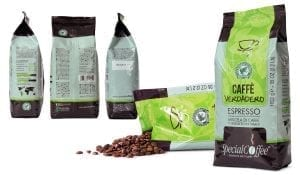 Verdadero: Rainforest Alliance certified sustainable coffee - caffè sostenibile certificato Rainforest Alliance