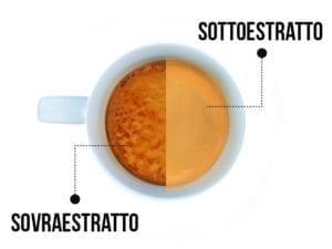 Crema sovraestratta e sottoestratta - La crema: il segno distintivo dell'espresso