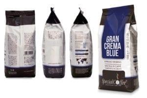 il corpo del caffè - pack gran crema blue