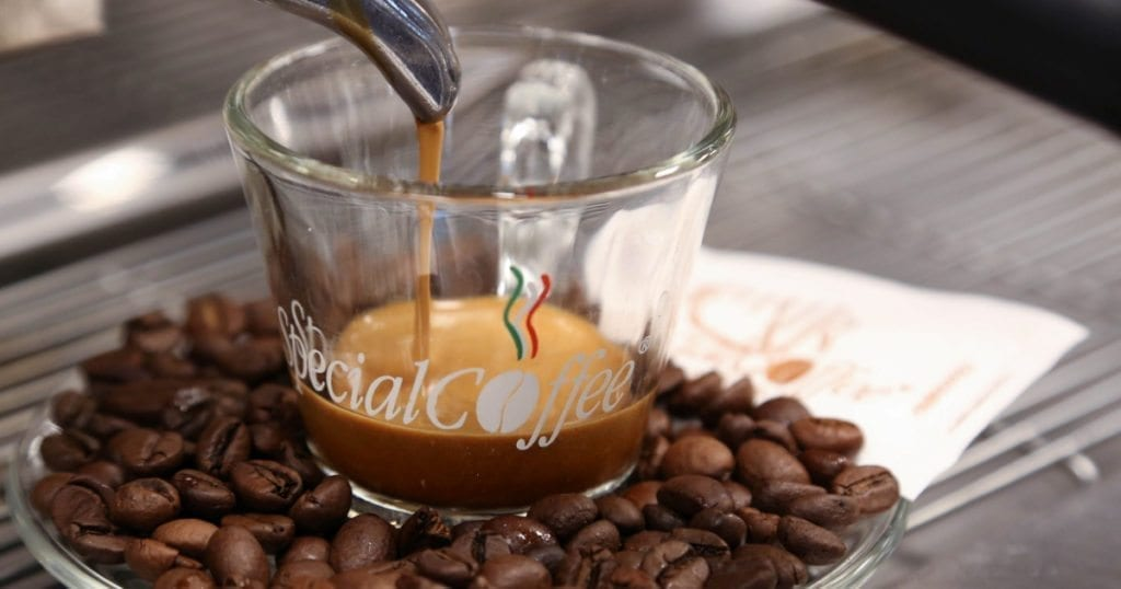 il corpo del caffè - immagine in evidenza