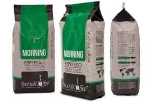 cappuccino con espresso - morning