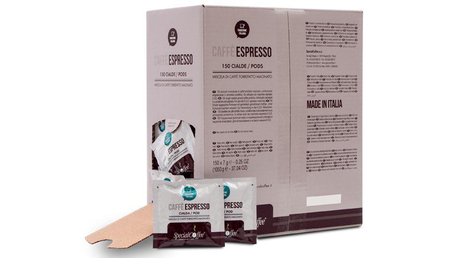 Cialde Espresso Premium - Cialde Caffè ESE 44mm